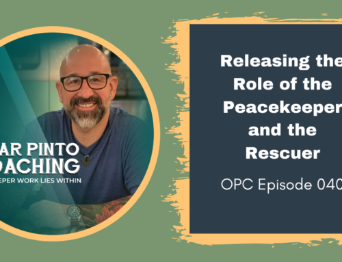 Releasing the Role of the Peacekeeper and the Rescuer
